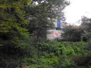bunker buiten