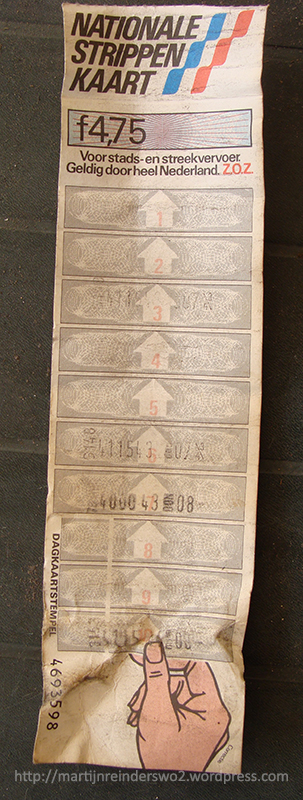 20 strippenkaart