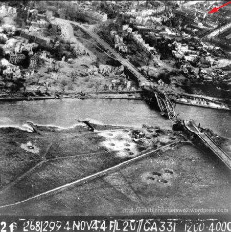 6 RAF oblique brug en boulevard nov44