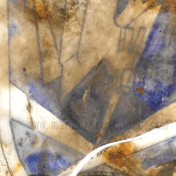 Flakscheinwerfer detail watermerk